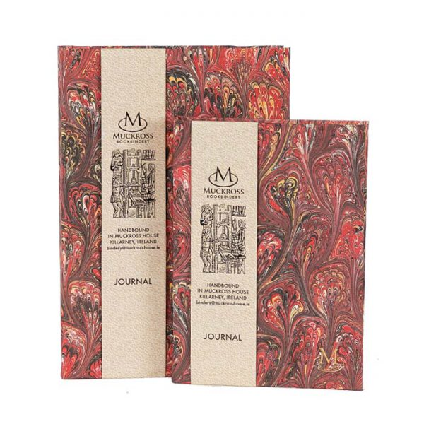 Muckross Bookbindery Marble Journals MP13
