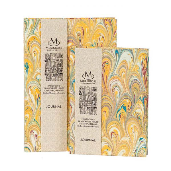Muckross Bookbindery Marble Journals MP12