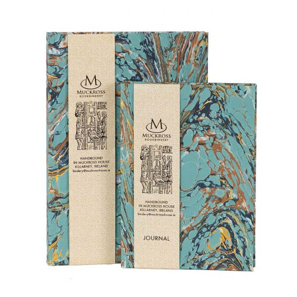 Muckross Bookbindery Marble Journals MP10