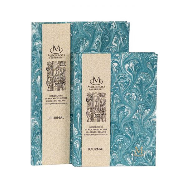 Muckross Bookbindery Marble Journals MP18