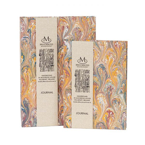 Muckross Bookbindery Marble Journals MP14