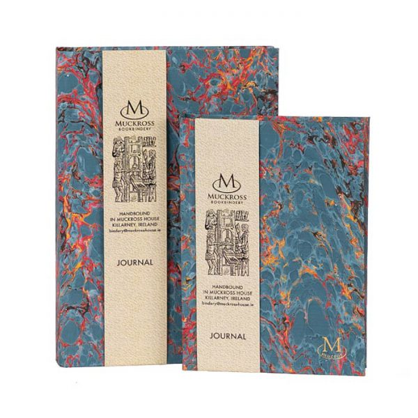 Muckross Bookbindery Marble Journals MP11