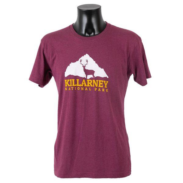 Killarney National Park T-Shirt Burgundy