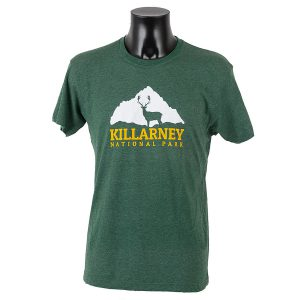 Killarney National Park Official Merchandise Stag & Mountain T-Shirt