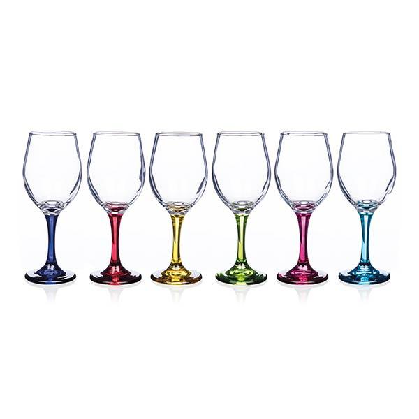 Newgrange Living Rainbow Vienna Wine Glasses Party Pack