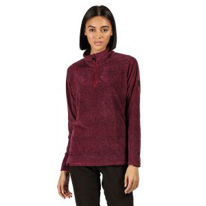 Regatta Pimlo Ladies Half Zip Velour FleeceÊTop