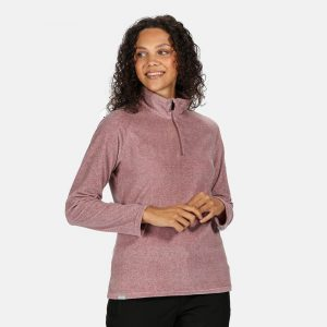 Regatta Pimlo Ladies Half Zip Velour Fleece Top