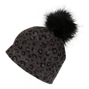 Regatta Azni Ladies Printed Fleece Bobble Hat