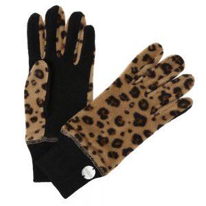 Regatta Azni Ladies Printed Fleece Gloves