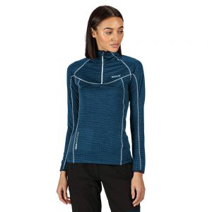 Regatta Yonder Ladies Long Sleeve Half Zip Performance Top