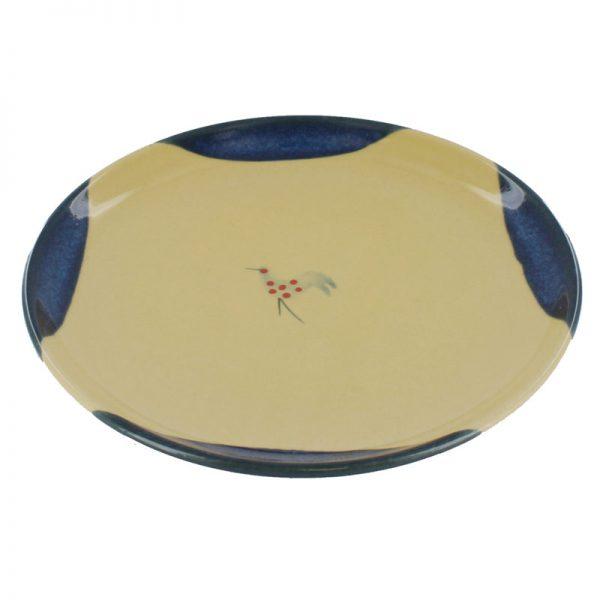 Muckross Pottery Honey & Blue Dinner Plate