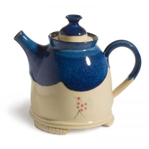 Honey & Blue Teapot – large with legs