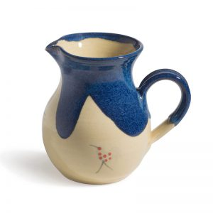 Honey & Blue Cream Jug A