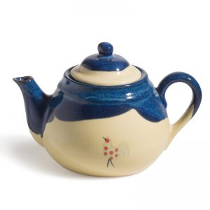 Honey & Blue Teapot