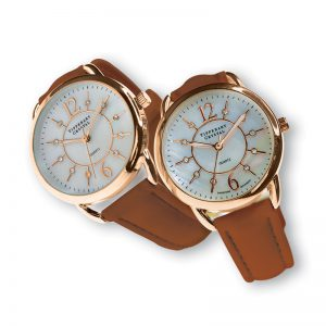 Tipperary Crystal Infinity Rose Gold Watch