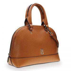 Tipperary Crystal Mayfair Tan Satchel Bag