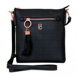 Tipperary Crystal Black Chelsea Bag
