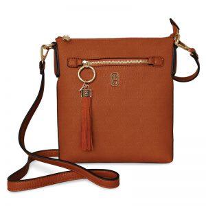 Tipperary Crystal Tan Chelsea Bag