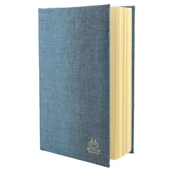 Muckross Bookbinding Blue Linen Journal
