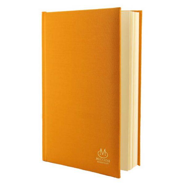 Muckross Bookbinding Canary Yellow Linen Journal