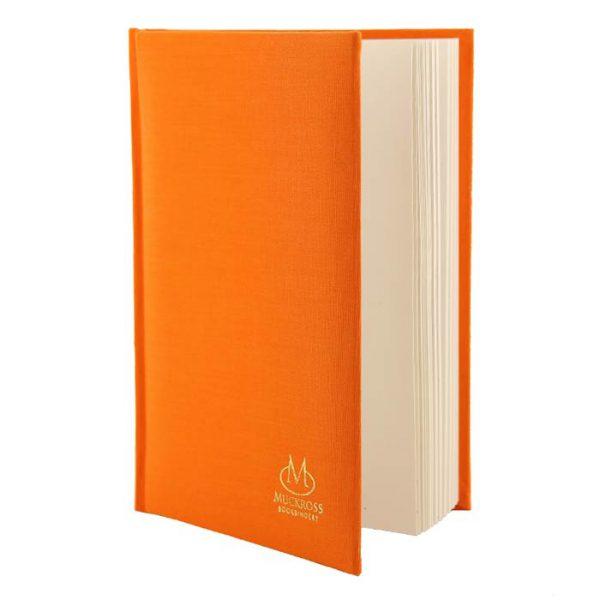 Muckross Bookbinding Orange Linen Journal
