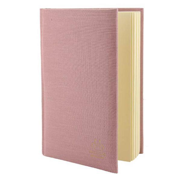 Muckross Bookbinding Pink Linen Journal