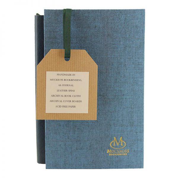 Muckross Bookbinding blue journal and gift box