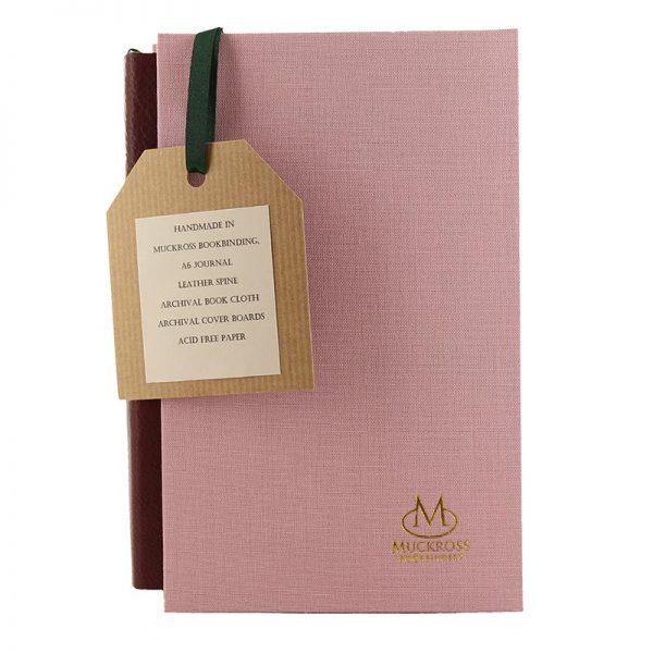 Muckross Bookbinding pink journal and gift box