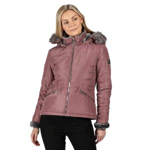 Regatta Westlynn Insulated Fur Trimmed Hooded Jacket