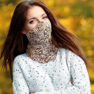 Washable Abstract Leopard Ladies Snood