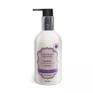 Tipperary Crystal Sweet Pea Antibacterial Hand Wash