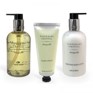 Tipperary Crystal Honeysuckle Hand Care Box Set
