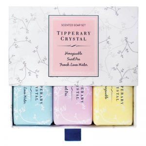 Tipperary Crystal Scented Soap Box Set