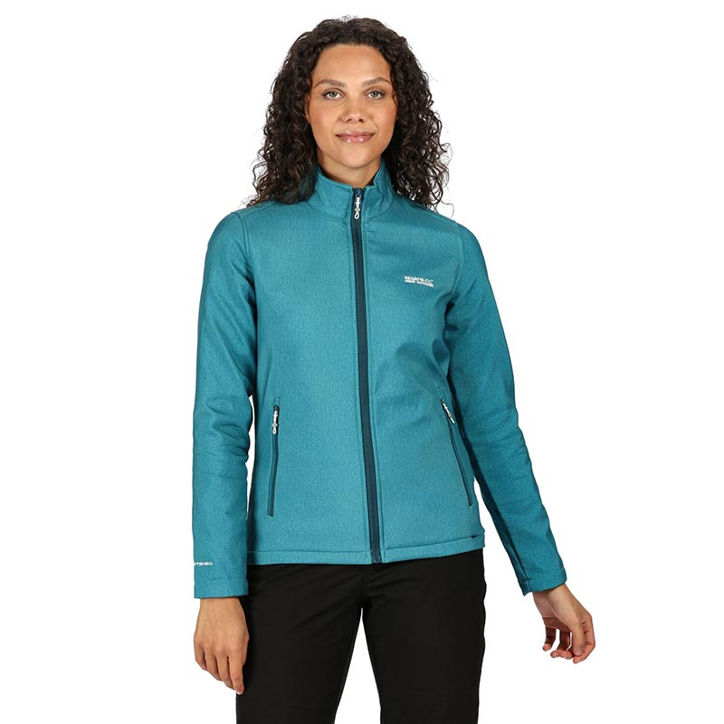 Regatta Womens Connie Iv Full Zip Wind Resistant Warm Backed Jacket Soft Shell
