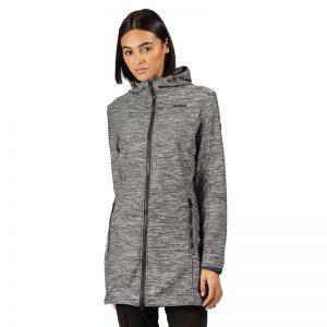 Regatta Alerie Longline Hooded Softshell Jacket