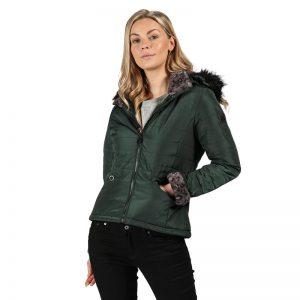 Regatta Westlynn Insulated Fur Trimmed Hooded Jacket